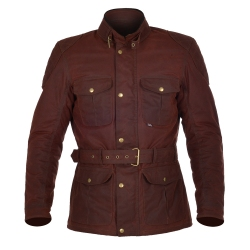 OXFORD BRADWELL JACKET OXBLOOD RED
