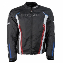 RICHA GOTHAM JACKET BLACK/BLUE/WHITE