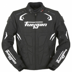 FURYGAN BLAST JACKET BLACK WHITE