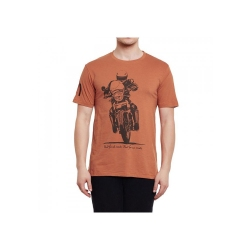 Royal Enfield Himalayon T Shirt Rust