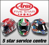 Drayton Croft five star Arai service centre